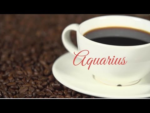 Aquarius October 22, 2018 Weekly Coffee Cup Reading by Cognitive Universe