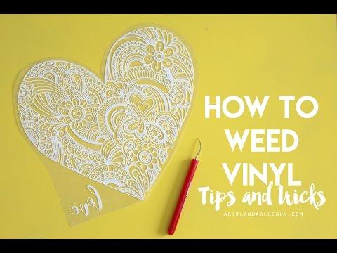 weeding craft vinyl tips and tricks