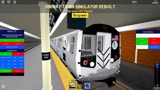 ROBLOX: Testing a R160A in GCT: Transit Simulator