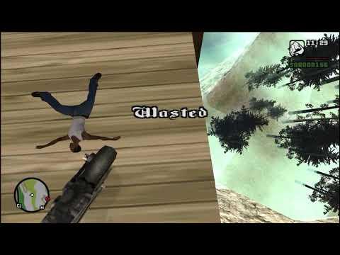 GTA San Andreas Wasted Fail Stunt