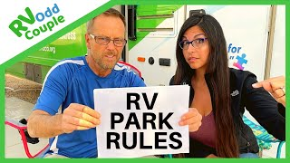 10 Dumbest RV Park Rules | Extreme Campground Etiquette