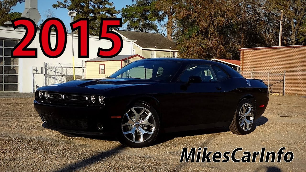 2016 Dodge Challenger Sxt Plus >> 2015 DODGE CHALLENGER SXT PLUS Pitch Black - YouTube