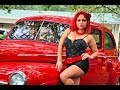 Rat Rods,  Pinup Girls, Vintage Cars,, Auto show at Indian River Rumble By BlingMaster Polish