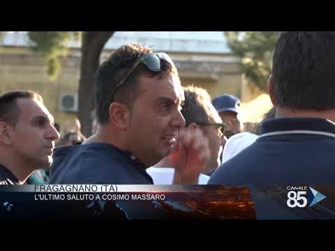 19 luglio 2019 Fragagnano TA l'utimo saluto a Cosimo Massaro