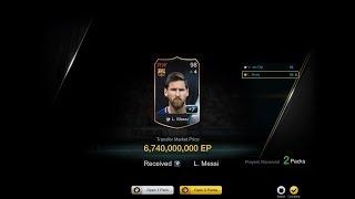 OMG! MESSI 17 +7 ( 7 BILLION ) - CURRENT SS UPGRADED PACKAGE - FIFA ONLINE 3 강화성공! เปิดแพค!