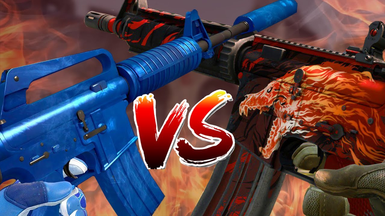 M4A1-S VS M4A4: Which is Better after Operation Riptide?
