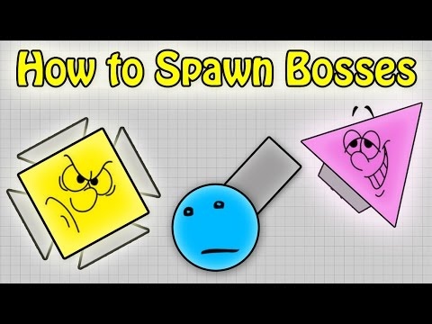 How to spawn BOSSES in SANDBOX game mode diep.io // How to spawn ARENA CLOSER in SANDBOX  in diepio