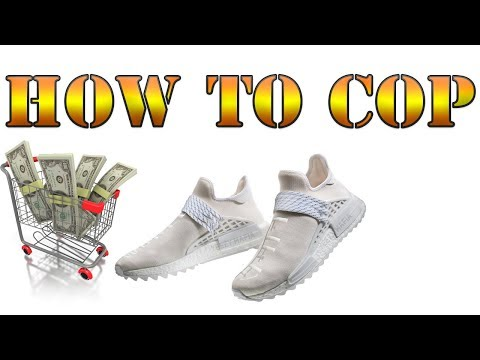 BEST WAY TO COP BLANK CANVAS HUMAN RACES + BLACK CEMENT UNBOXING!