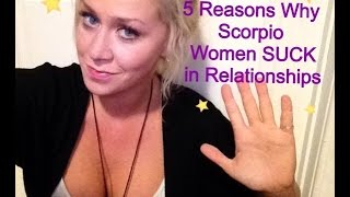 Deal scorpio to How woman with