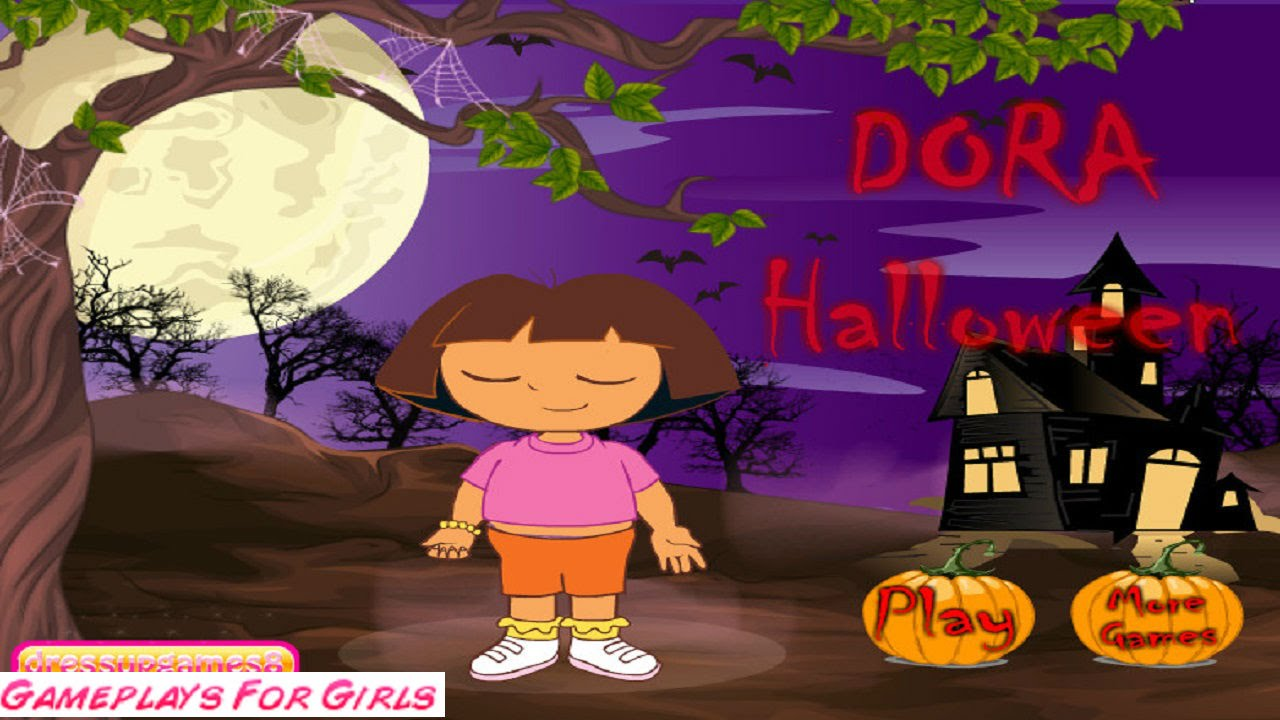 dora halloween dress up game dora the explorer games - Dress Up Games For Halloween