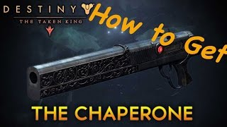 How to get The Chaperone !!! Exotic Shotgun Quest - Jolly Holiday (Destiny The Taken King PS4/XB1)