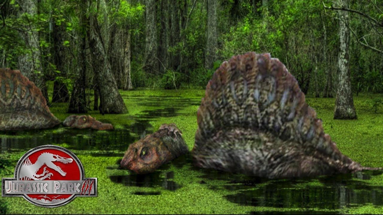 2 spinosaurus 39 s on isla sorna theory jurassic park 3 youtube - Spinosaurus jurassic park ...