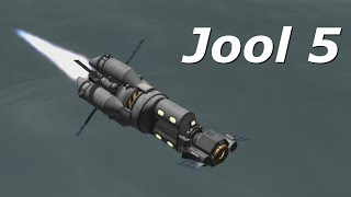 Kerbal Space Program 1.0.5 stock Jool 5 mission