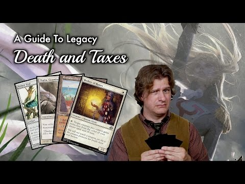 MTG - An Advanced Guide To Legacy Death and Taxes for Magic: The Gathering