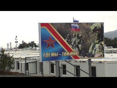 Мобильный госпиталь для российских миротворцев заработает в Нагорном Карабахе уже до конца апреля.