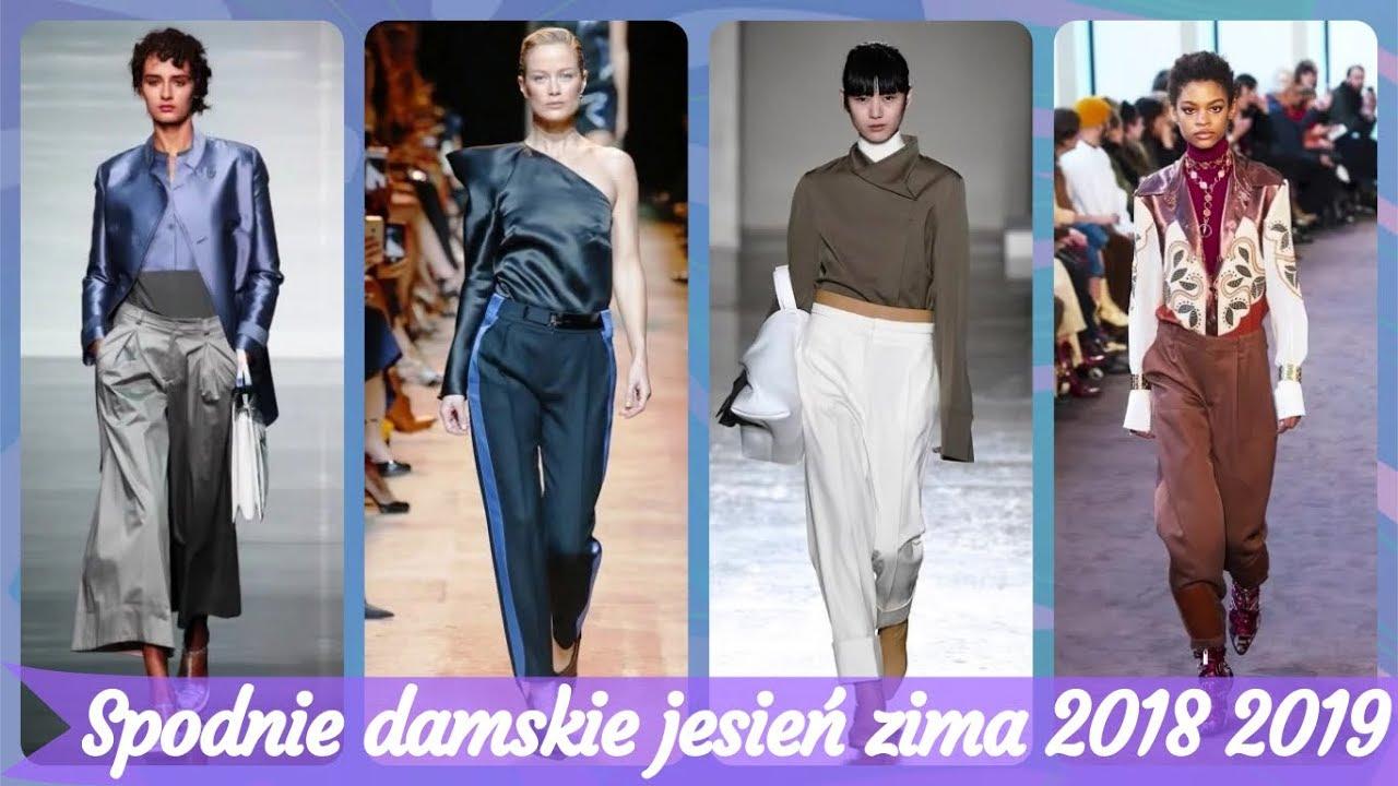 ac1207329b73 Top 20 modne spodnie damskie jesień zima 2018 2019 - YouTube