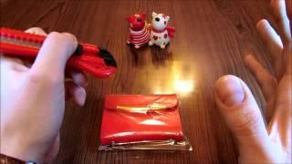 Розпакування посилки з Китаю №8. Візитниця жіноча з Aliexpress.