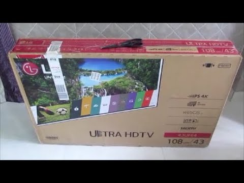 LG 108cm (43inch) Ultra HD (4K) LED Smart TV 43UF640T Unboxing & Review After 3 Months Use.(HINDI)
