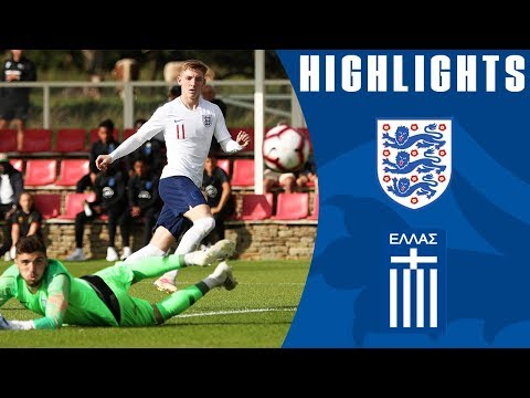 England 3-1 Greece U19s | Young Lions Start Season With Emphatic Win! | Official Highlights