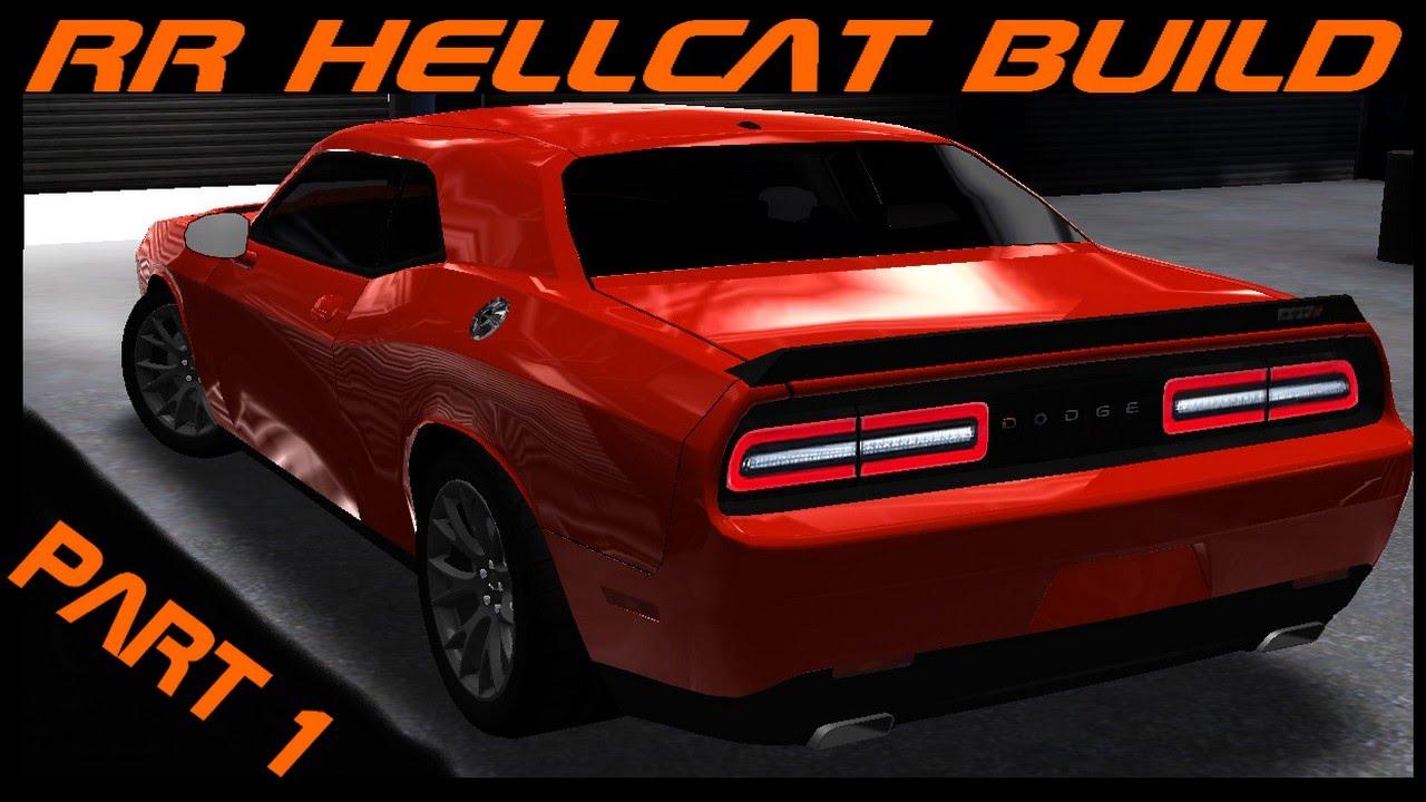 racing rivals car build dodge challenger hellcat part 1 youtube. Black Bedroom Furniture Sets. Home Design Ideas