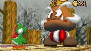 Super Mario 64 DS Walkthrough - Part 2 - Goomboss Battle