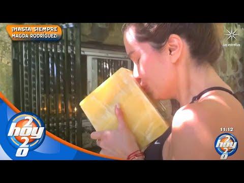 ¡Así fue la despedida de Andrea Escalona de su mamá, Magda Rodríguez! | Hoy