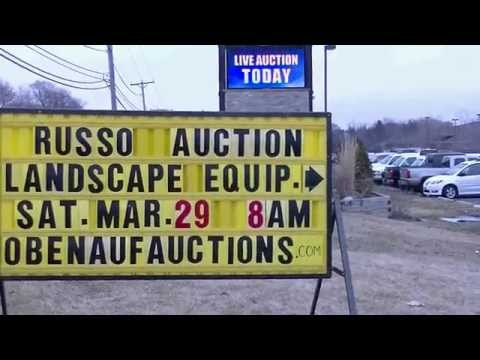 Russo Power Equipment 2014 Spring Used Equipment Auction Highlight