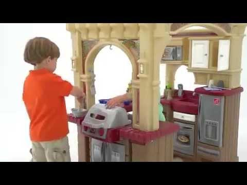 Step2 LifeStyle Grand Walk In Kitchen   YouTube