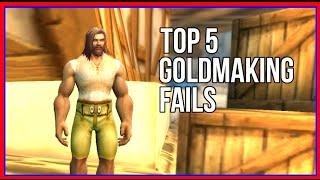 Top 5 Goldmaking Fails - WTBGold Community