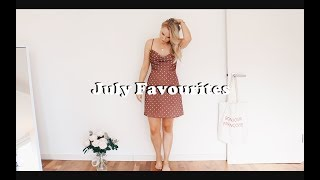 JULY FAVOURITES | LIFESTYLE, FASHION, SKINCARE