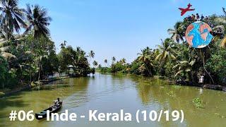 TVGT🌍#06 - Inde - Houseboat dans le Kérala