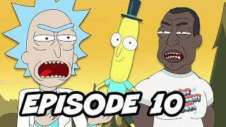 Rick and Morty Season 3 Episode 10 - Finale Easter Eggs and References