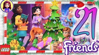 Day 21 Build your Christmas Tree Decorations - Lego Friends Advent Calendar 2018