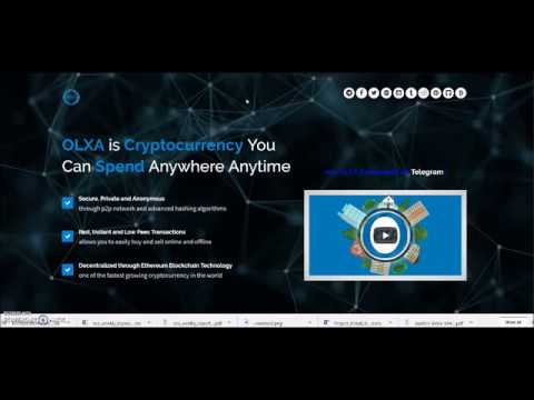 OLXA Coin Services and ICO Review