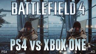 Battlefield 4: PlayStation 4 vs  Xbox One [1080p]