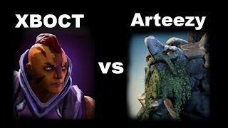 XBOCT Antimage vs Tiny by Arteezy Dota 2