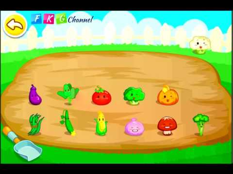 [FKG] Learn Vegetables with Vegetable Fun BabyBus Kids Games - App for Children with Fun Activities