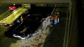 Signalisation SSS Accident TMA Autoroute Décarie Montreal Québec 2