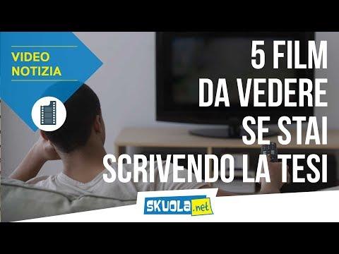 Università: 5 film da vedere mentre scrivi la tesi