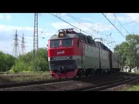 ЧС7-317 с поездом №737В Москва-Белгород.