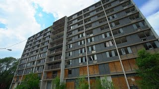 Cleveland's Creepy ABANDONED Apartment Tower