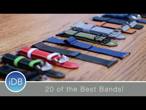 The Ultimate Apple Watch Band Roundup  20 Bands from Nomad, Apple, Grovemade, & More