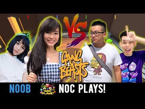 NOC Plays Gang Beast! Ft. Aurelia, Ryan, Grace.