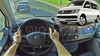 2019 Volkswagen Caravelle 2.0 TDI   Езда от первого лица   POV Test Drive #37