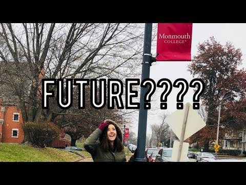 MY FAVORITE COLLEGE VISIT?? | monmouth college