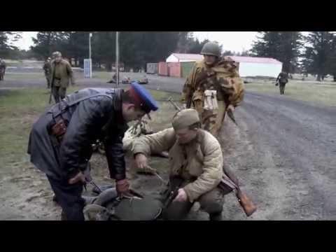 WW2 Military reenactment