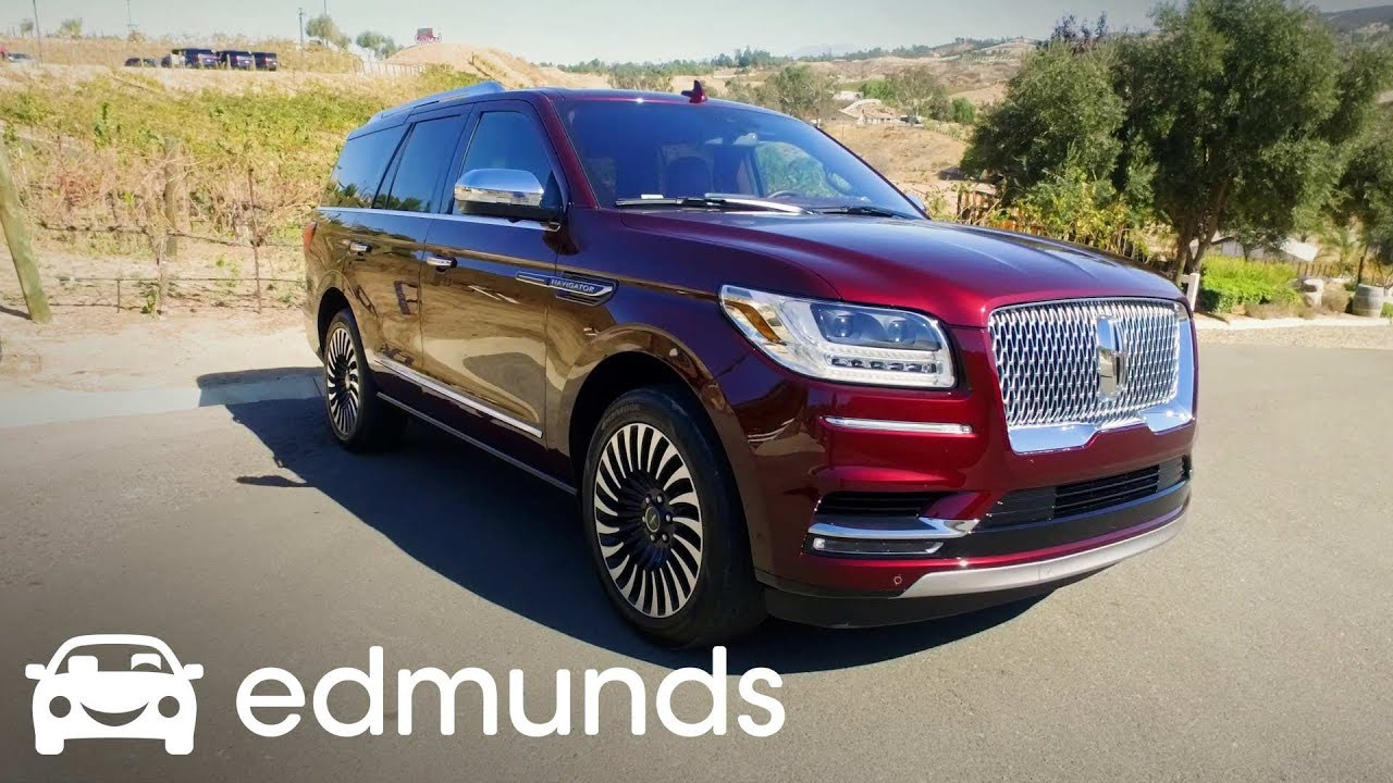 lincoln navigator review test drive edmunds