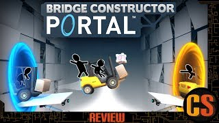 BRIDGE CONSTRUCTOR PORTAL - PS4 REVIEW