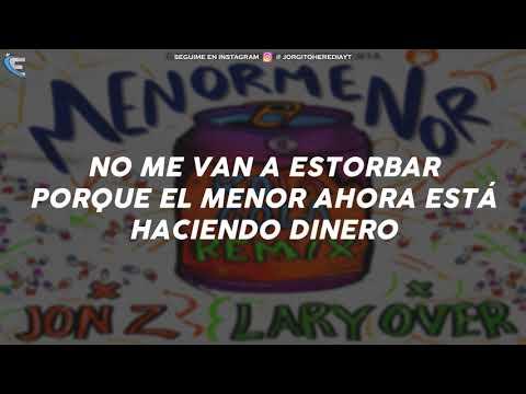 Menor Menor X Lary Over X Jon Z - Rola Cola Remix (LETRA)