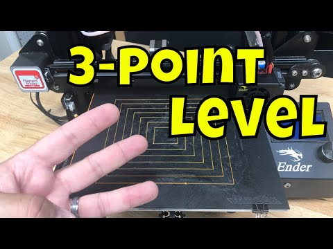 3-Point Leveling System on Creality Ender 3